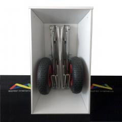 Foldable twin wheelbarrow_closed_vertically